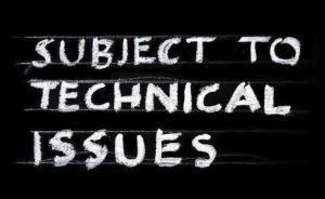 DJ gigs have technical issues