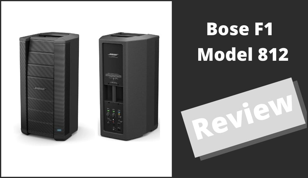 Bose F1 Model 812 Speakers Review Cover Photo
